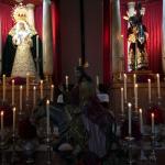 Altar a media luz